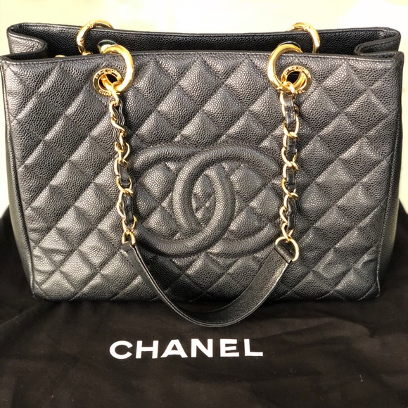 bc838089cfd1 CHANEL Bags   Large Shopping Tote   Poshmark
